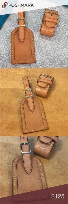 f007cf705e80 Louis Vuitton 💝 Luggage ID Tag   Poignet Set Louis Vuitton 💝 Luggage Tag    Poignet