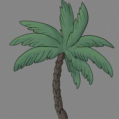 Old palm tree doodle by Radlazybones on DeviantArt Palm Tree Sketch, Tree Sketches, Sketch Ideas, Palm Trees, Quilting, Doodles, Watercolor, Deviantart, Palm Plants