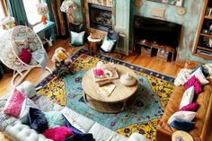 A Colorfully Eclectic Colorado House | Apartment Therapy