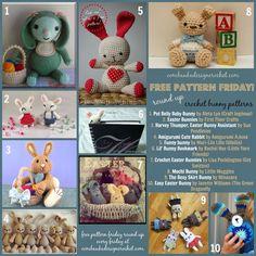 Oombawka Design *Crochet*: Free Pattern Friday Round Up - Bunny Amigurumi