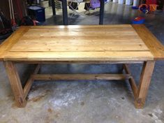Finished with the stain and polyurethane!