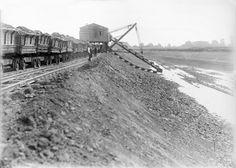 Mittellandkanal im Bau (under construction )