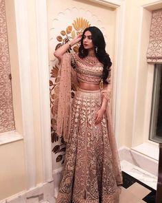 bollywood fashion Janhvi Kapoor / Khushi Kapoor on - Indian Lehenga, Indian Gowns, Indian Attire, Indian Ethnic Wear, Pakistani Dresses, Lehenga Choli, Anarkali, Pakistani Bridal, Pakistani Suits
