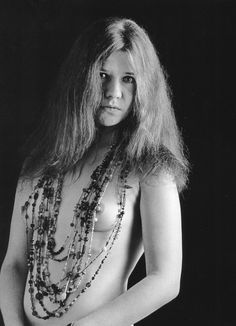 Janis Joplin photographed by Bob Seidemann