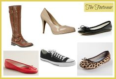 Improving Me in 2013: Day 9 {The Footwear} 6 pairs of shoes you should have in a basic wardrobe.
