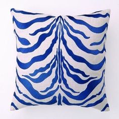 cobalt turquoise pillow - Google Search