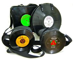 recycling projects: vinyl records