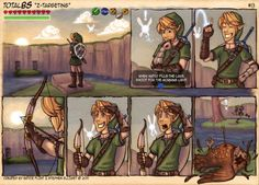 Link used ARROWS. CRITICAL HIT!