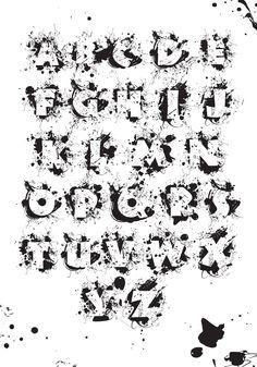 Поиски образа шрифтовой гарнитуры (Гранж)