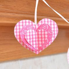 Learn how to make a 3D paper heart garland that's perfect for Valentine's Day!
