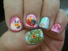 12 Best Candy Crush Nails Images On Pinterest Candy Crush Nails