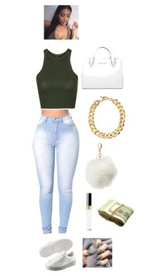"""""""‼️"""" by cloutqueex on Polyvore featuring Topshop, Puma, Charlotte Russe, Chanel and Michael Kors"""