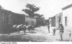 Tuscon, Arizona Territory, 1870's