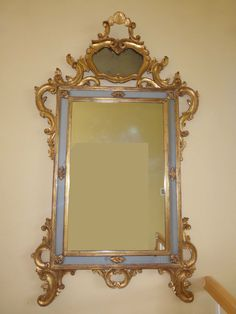 """EXQUISITE FRENCH LOUIS XV Gold Giltwood ROCOCO Large 67"""" Wall Mantle MIRROR  #LOUISXVROCOCOFRENCH"""