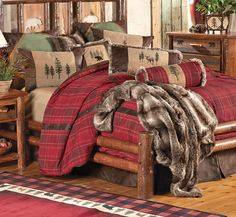 Image of Captivating Simple Log Cabin Home with Bedding for Lake Cabins also Farm House Stone Wood Siding Homes Log Cabin Style Interiors Small Custom Wood Bars