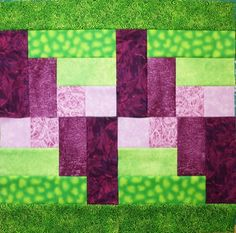 How To Make The Quarter 4 Log Cabin Block | Quilts By Jen