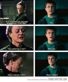 Professor McGonagall being awesome.