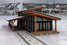 Architecture Discover Architecture Enjoy the Great Outdoors! Tiny House Cabin Tiny House Living Tiny House Design Cabin Homes Small House Plans Modern House Design Log Homes Shed Roof Design Casas Containers Tiny House Cabin, Tiny House Design, Cabin Homes, Small House Plans, Modern House Design, Log Homes, My House, Tiny House Living, Cottage Design