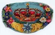 *The Graphics Fairy LLC*: Vintage Clip Art - Gorgeous Colorful Crown Vintage Tags, Vintage Labels, Vintage Ephemera, Vintage Paper, Vintage Clip, Graphics Fairy, Free Graphics, Cigar Box Art, Crown Images