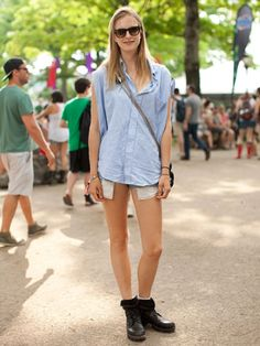 Governors Ball 2013 Street Style - The Governors Ball in New York City 2013 - Marie Claire