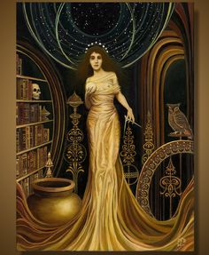 Urania - The Muse of Astronomy and Philosophy 5x7 Greeting Card. $5.00, via Etsy.