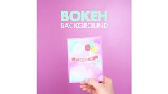 Found it at Blitsy - DIY Bokeh Background Card