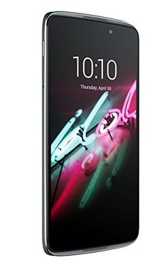 Alcatel Idol 3 smartphone débloqué 4G (Ecran : 5,5 pouces – 16 Go – 2 Go RAM – Android Lollipop 5.0.2) Gris