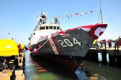 Bautizo de las patrulleras BAP Rio Pativilca y BAP Rio Cañete de la Marina de Guerra del Perú-noticia defensa.com
