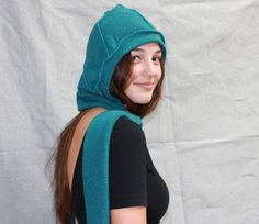Hooded Scarf from Gypsy and Loic - Made in the USA American Made Clothing, Hooded Scarf, All Things, Gypsy, Hoods, Usa, How To Make, Clothes, Women