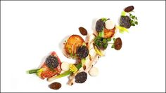 Dovetail, one Michelin Star, 103 W Street Chefs, Michelin Star Food, Modernist Cuisine, Exotic Food, Food Decoration, Food Plating, Plating Ideas, Molecular Gastronomy, Culinary Arts