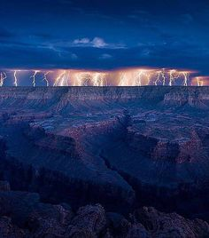 #lightning #grand #canyon