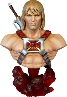 Masters of the Universe He-Man Collectible Bust by Tweeterhe | Sideshow Collectibles