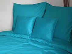 Holey Quilt® obliečka Zipper™ Bavlna Deluxe Tyrkys 140x200