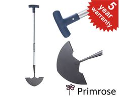 Primrose Carbon Steel Edging Knife with Ergonomic Handle