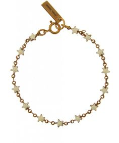 Isabel Marant White Hoshi Star Resin Bracelet http://www.fashion-mommy.com/2014/01/10/friday-shopping-focus-2/