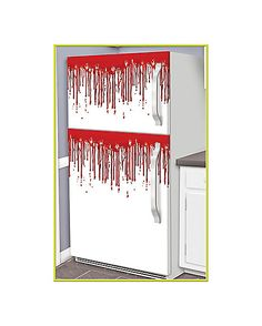 Funky Bloody Fridge Drips - Decorations  - Spirithalloween.com