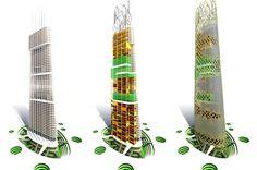 Hypergreen, la nouvelle tour écologique du futur : une tour démontable