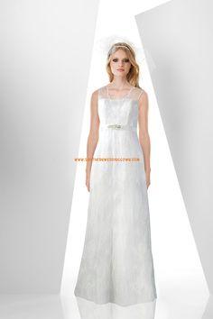 Seprő uszály Pánt nélküli Fűzős Menyasszonyi ruhák 2014