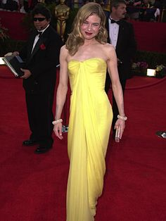 Circa 1960 Lily Et Cie vintage dress worn by Renee Zellweger at the Oscars in 2001