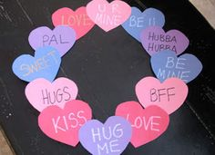 Super Easy Valentine's Day craft #Crafts #Kids