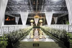 Wedding Ceremony decor - Flor & Cia
