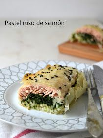Cuuking! Recetas de cocina: Kulibiak o pastel ruso de salmón