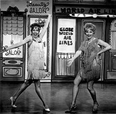 Lucille Ball & Carol Burnett
