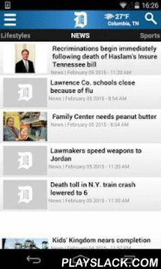 Columbia Daily Herald  Android App - playslack.com ,  You're only a touch away from the latest news in Columbia and southern Middle Tennessee! The new Daily Herald app for IPhone and mobile devices gives you 24/7 updates on your hometown, anywhere, any time.NewsSportsBusinessLifestylesHealthEntertainmentOpinionMust-have features include breaking news, latest weather and local sports scores. It's everything you need in one easyto-use format. From the boardroom to the bedroom, the Daily Herald…