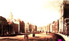 1811  House Guards, London, UK.   Plate via Rudolph Ackermann's 'The Repository of Arts' Volume 5. via Google Books  (PD-180)   suzilove.com
