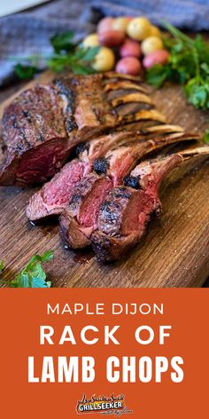 Check out this delicious lamp chops recipe to learn how to grill lamp chops for a delicious grilled lamb dinner Grill Recipes, Lamb Recipes, Lamp Chops Recipe, Lamb Dinner, Omaha Steaks, Grilled Lamb, Rack Of Lamb, Grilling Tips, Lamb Chops