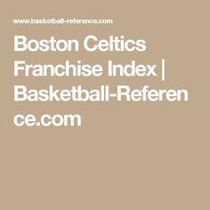 Boston Celtics Franchise Index | Basketball-Reference.com