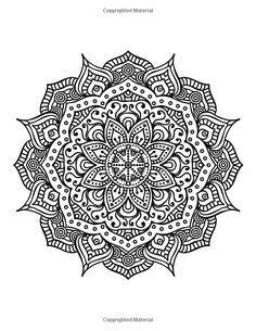 The World's Best Mandala Coloring Book: A Stress Management Coloring Book For Adults: Penny Farthing