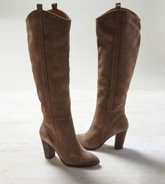 Taupe DV by Dolce Vita Knee High Suede Boot