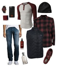 """""""Men's casual classic"""" by jeana-deming-barnhart on Polyvore featuring AG Adriano Goldschmied, LE3NO, Topman, Under Armour, Puma, Ted Baker, Vivienne Westwood, Native Union, HUGO and men's fashion"""